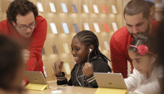 Free Hour of Code workshops December 5 through 11 at every Apple Store