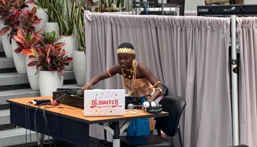 Young Ghanainan Phenom, DJ Switch performs at World Bank's African Society Symposium